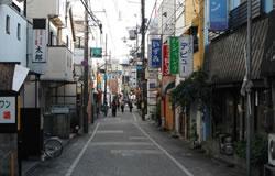 中書島(伏見柳町)遊郭跡の写真