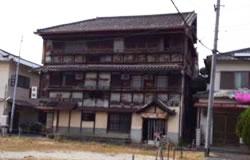 奈良県東岡町遊郭跡の写真