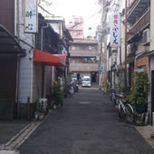 福原赤線跡の写真
