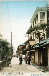 昔の福原遊郭の写真