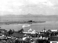 昭和30年頃の雄琴温泉の写真